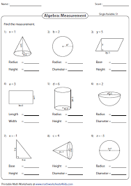 evaluating algebraic expression worksheets