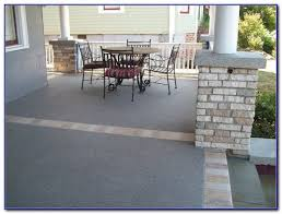 Resurface Concrete Patio Resurfacing Concrete Patio With Tile Patios Home Design Ideas