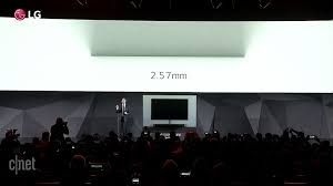home design software cnet lg debuts amazingly superthin oled tv