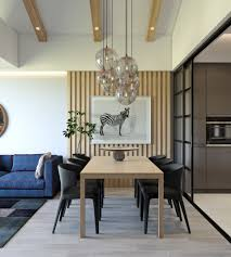 trendy dining room designs combined with modern and minimalist