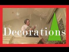 Decorated Christmas Trees On Youtube by Christmas Decorations Hanging Balls And Ornaments Christmas