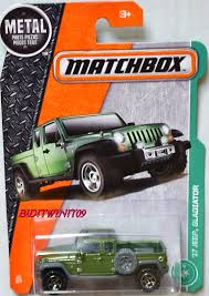 jeep gladiator matchbox 2017 metal parts piezas u002717 jeep gladiator green 0001998