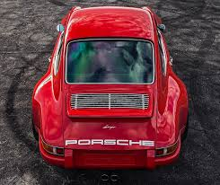 red porsche png this restomod porsche 911 is a rocket in red airows