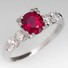 birthstone engagement rings ruby rings july birthstone eragem