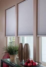 Energy Efficient Window Blinds Easy Elegance Black Out Cordless Cellular Shade In White This