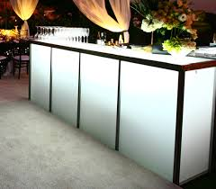 bar rentals 8 translucent bar town country event rentals