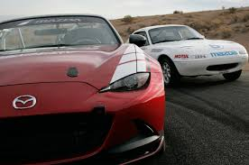 widebody miata mazda motorsports adds factory hardtop for mx 5 miata cup racers