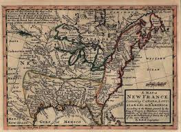 A Map Of France by 1710 U0027s Pennsylvania Maps