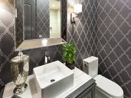 Wallpaper In Bathroom Ideas by Candace Olson Interiors Unique Home Design