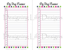 daily planner free template 7 best images of online agenda printable free printable daily printable day planner pages