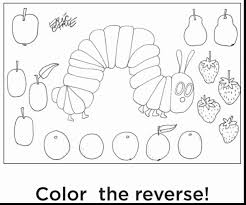 awesome printable butterfly coloring pages with caterpillar