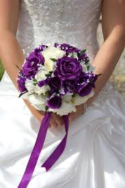 wedding flowers purple purple wedding bouquets 2017 wedding ideas magazine weddings