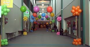 Church Decorations For Easter Sunday by Easter Balloon Decorations Balloon Splendor