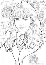 ginny weasley coloring pages harry potter colouring pages