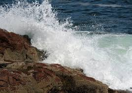ocean waves hitting rocks free stock photo public domain pictures