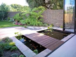 flooring great exterior décor with small backyard ponds and koi