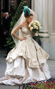 Jessica Mcclintock Wedding Dresses Sarah Jessica Parker Wedding Dress The Mighty Dress Of Sarah