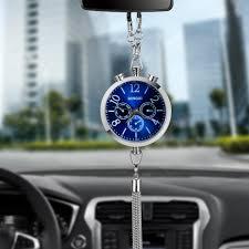aliexpress buy fashion alloy car clock perfume refill