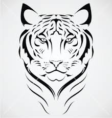 bengal tiger design vector by iwant61 on vectorstock