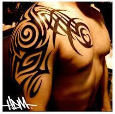 shoulder chest custom design