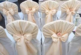 chair bows for weddings chair cover hire sash bows hire wedding table swagging venue