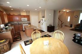 small open kitchen floor plans open plan kitchen living dining thelodge club