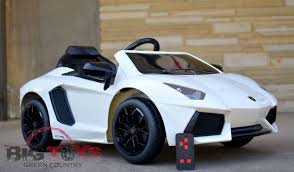 Big Toys Remote Power Wheels Lamborghini Rc Ride On Car Youtube