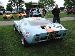 gulf gt40 image view gt40 rear