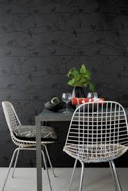 Esszimmer Designer St Le Tapete In Schwarz Für Die Wandgestaltung 40 Ideen U0026 Tipps
