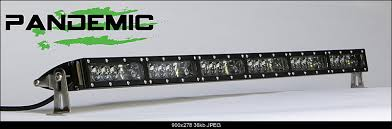 Single Row Led Light Bar by 50