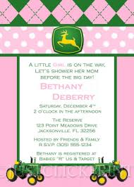 john deere baby shower invitations dancemomsinfo com