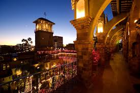 festival of lights at the mission inn riverside ca bikers