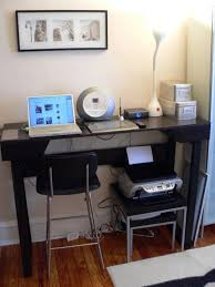 diy project create a standing desk from an old ikea coffee table