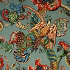 Chenille Upholstery Fabric Uk Poppinjay Velvet Aztec Ian Sanderson Upholstery And Curtain Fabrics