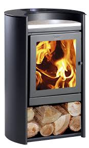 wood heating stove contemporary steel rondo amesti fireplaces