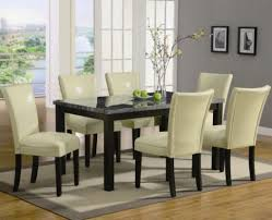 Dining Room Chair Styles Leather Parsons Dining Room Chairs Black Leather Parsons Dining