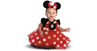 Minnie Mouse Halloween Costume Buy Disney Red Minnie Mouse Infant Costume