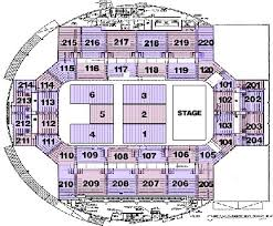 pepsi center floor plan seating charts broadmoor world arena