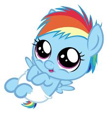 Baby Twilight Sparkle Baby Dashie By Comeha My Pony Friendship Is Magic