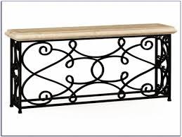 wrought iron sofa table base centerfieldbar com