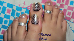 toe nail arts design how you can do it at home pictures designs