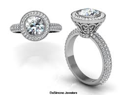 what is an engagement ring custom designed engagement rings desimone jewelers philadelphia