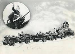 wwii jeep in action holiday ewillys