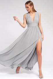 grey maxi dress light grey gown maxi dress sleeveless maxi 84 00