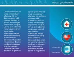 healthcare brochure templates free free brochure templates the grid system