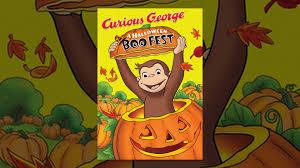 curious george a halloween boo fest youtube