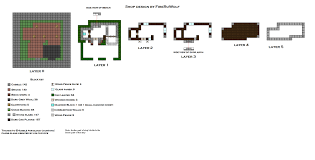 Minecraft House Blueprints Layer By Layer by Fireruwolf Small Shop Finished By Coltcoyote On Deviantart