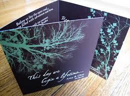 Wedding Invitation Folded Card Tri Fold Printed Design Wedding Invitations Trendyoutlook Com