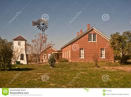 old west ranch house stock photography image 8010852