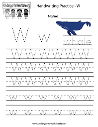 free handwriting worksheets for the alphabet printable blank